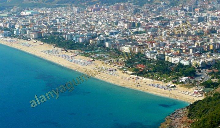 Alanyanın meşhur Kleopatra Plajı